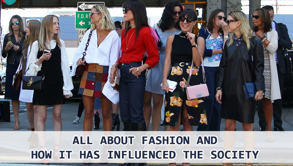 how does fashion influence society