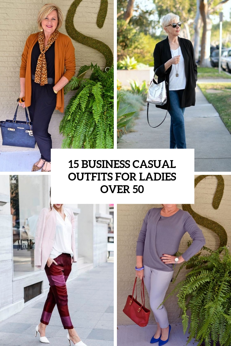 Casual Outfits for Ladies above 50