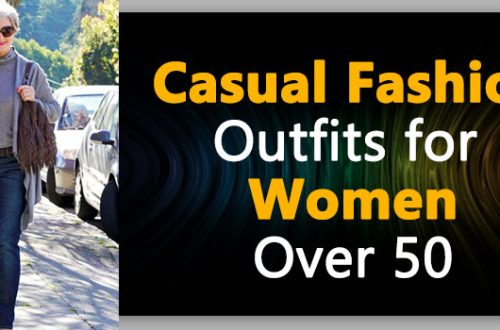 Casual Fashion For women over 50